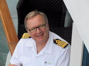 Mark Dexter - Kapitän der Seabourn Encore ©Seabourn Encore